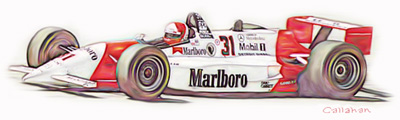 [ Al Unser, Jr. Drawing ]