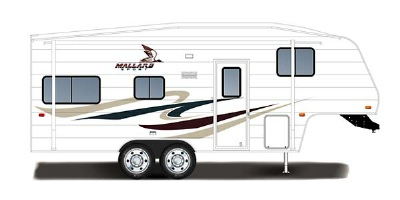 2007 Fleetwood Mallard Sport 18CK Specifications and Dimensions