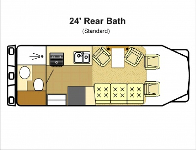 24 ftclass c motorhome floor plans submited images pic2fly 25 ft travel trailer floor plans trend home design and decor