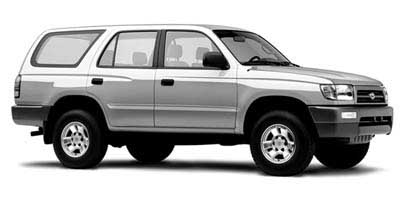 1998 Toyota Truck 4Runner 4dr Manual Overview Toyota Truck
