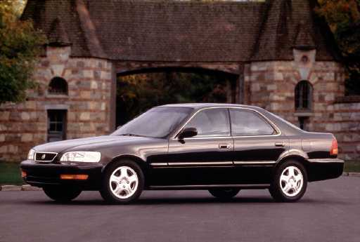acura tl 2 5 four door sedan 1996. Black Bedroom Furniture Sets. Home Design Ideas