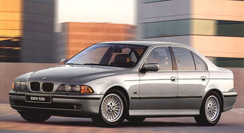 1998 BMW 528i. by Carey Russ