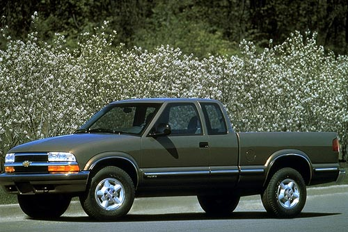chevrolet s 10 ls 4x4 extended cab new car review. Black Bedroom Furniture Sets. Home Design Ideas