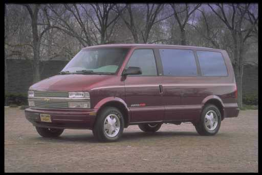 New Car Review. 1996 CHEVROLET ASTR0 VAN LT ALL-WHEEL DRIVE. CHEVROLET ASTRO