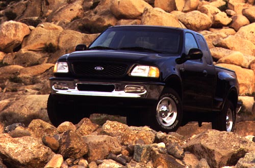 1998 FORD F-150 4x4 SUPERCAB XLT. by Matt/Bob Hagin