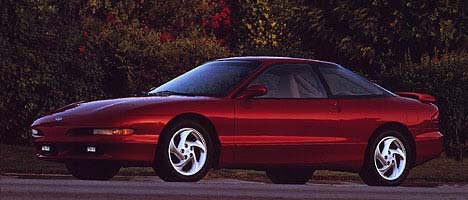 New Car Review Ford Probe Gt