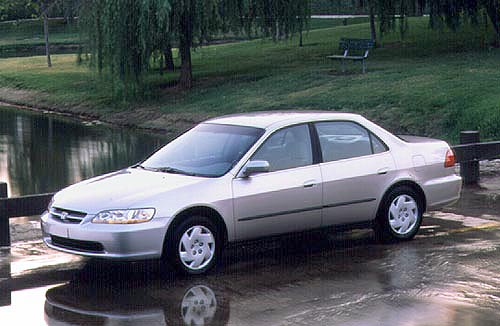 1998 Honda Accord Coupe. The #39;98 Accord has raised