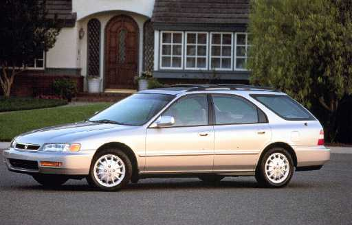 New Car Review. 1996 HONDA ACCORD EX WAGON. by Tom/Bob Hagin. Accord Photo