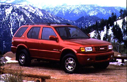 Isuzu Rodeo Ls New Car Review Isuzu Rodeo Ls 4x4 1998