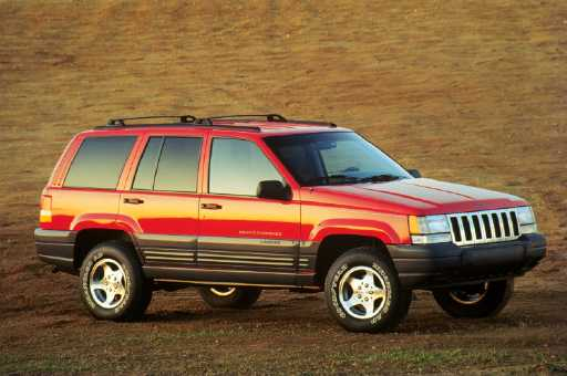 New Car Review. 1996 JEEP GRAND CHEROKEE LAREDO. by Tom Hagin. Jeep Photo