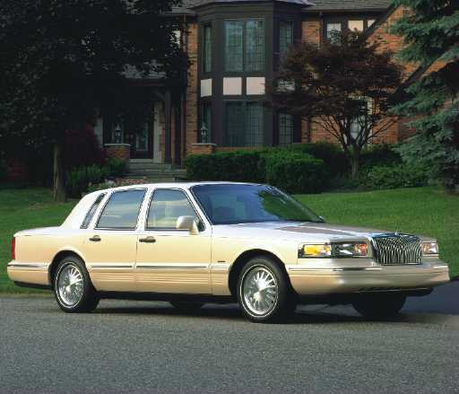 Lincoln Town Car Cartier Edition By John Heilig