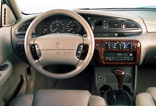 Mercury Mystique Interior