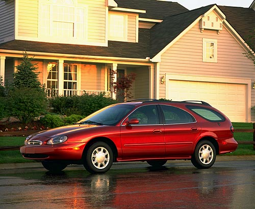 Mercury Sable Wagon LS. by John Heilig