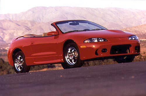 Mitsubishi Eclipse Spyder Fun But Mainly New Car Review