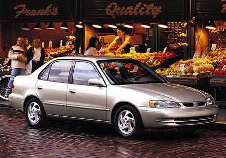 1998 toyota corolla review