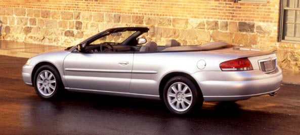 Review: 2002 Chrysler Sebring GTC Convertible