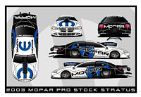Auto Prostock Dodge Neon Computer Drag Racing on Mopar Unveils 2003 Dodge Stratus R T Pro Stock Entry