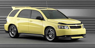 Used Chevy Traverse >> Chevrolet Xtreme models at the 2003 SEMA Show