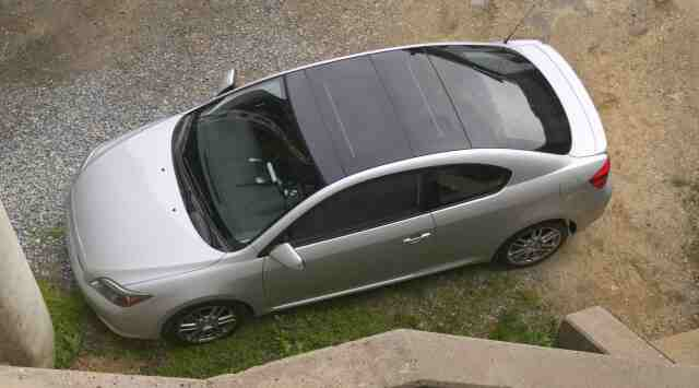 2005 Scion tC. ``As above, so below'' goes the old