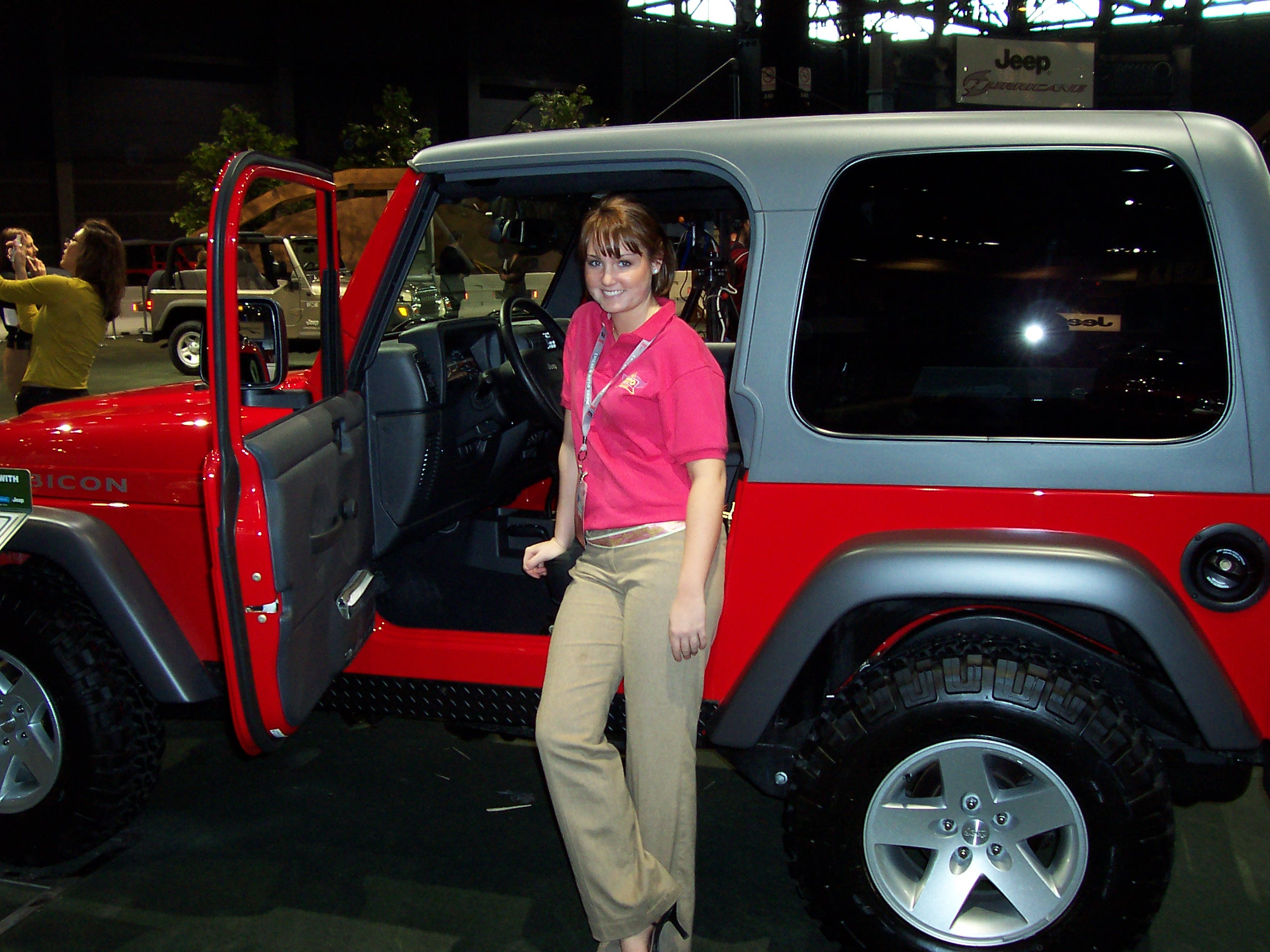 Carz4girlz  2005 Jeep Wrangler Unlimited Rubicon
