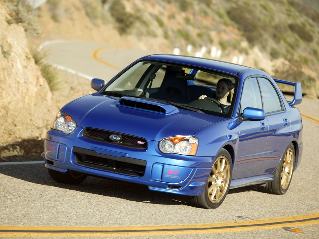 2005 subaru wrx sti review