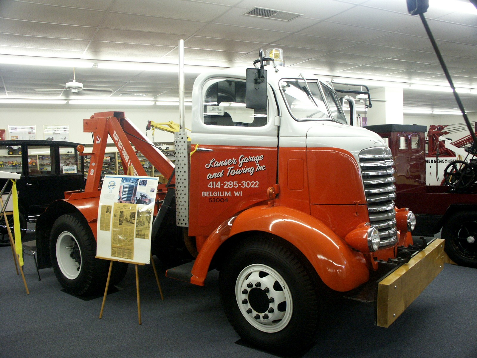 chattanooga   tow truck museum  hall  fame