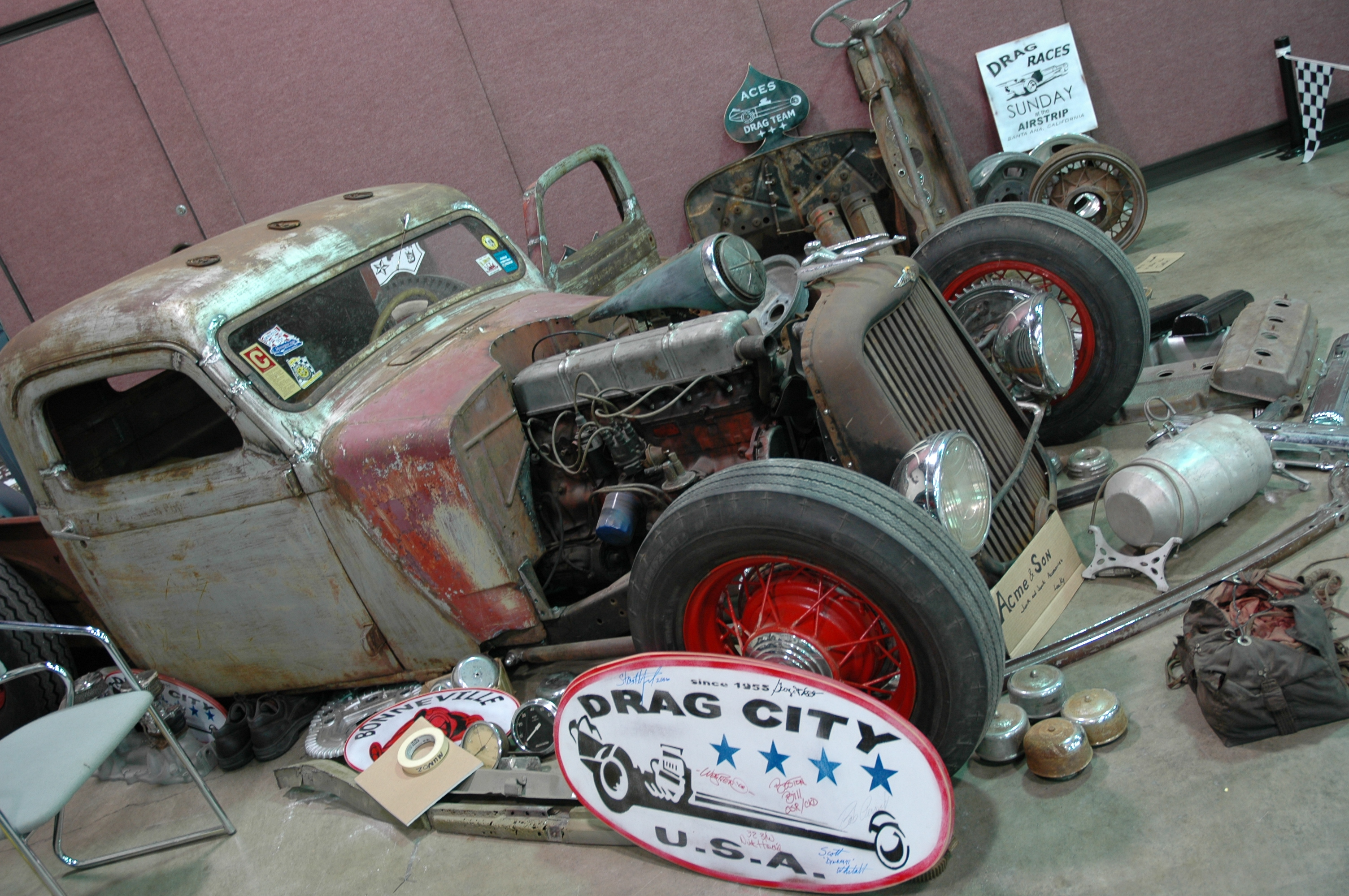 Motor City Rat Rodsrat Rod Pickup Truck Rat Rod Pickup Truck