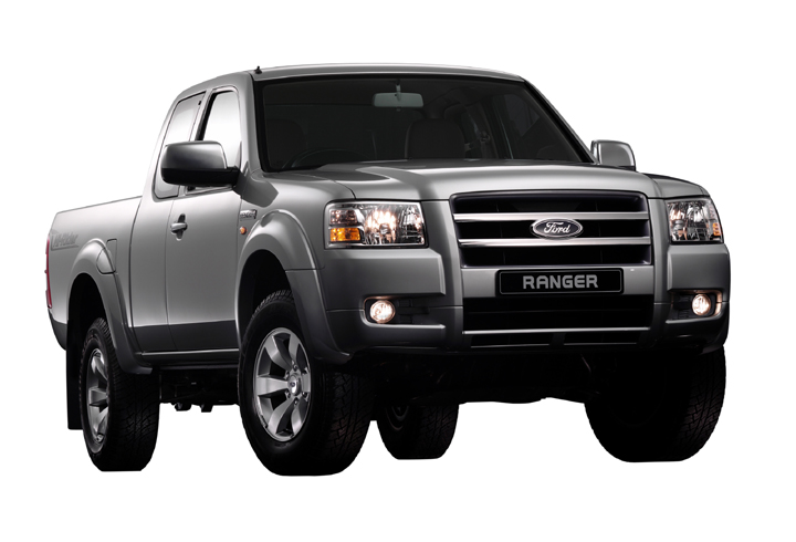Thailand - March 8, 2006: The All New Ford Ranger