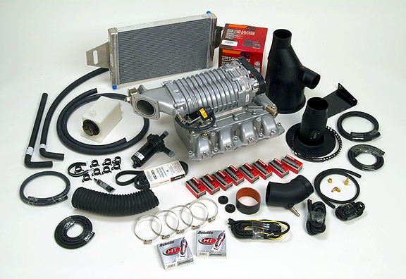 New F-Force Supercharger Kit From PowerWorks Packs 150 Extra Horsepower into V-8 F-150 pickups