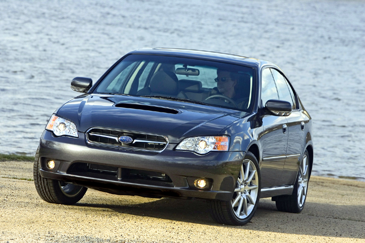 2007 Subaru Legacy 2.5 GT spec.B Debuts New SI-Drive Performance System and