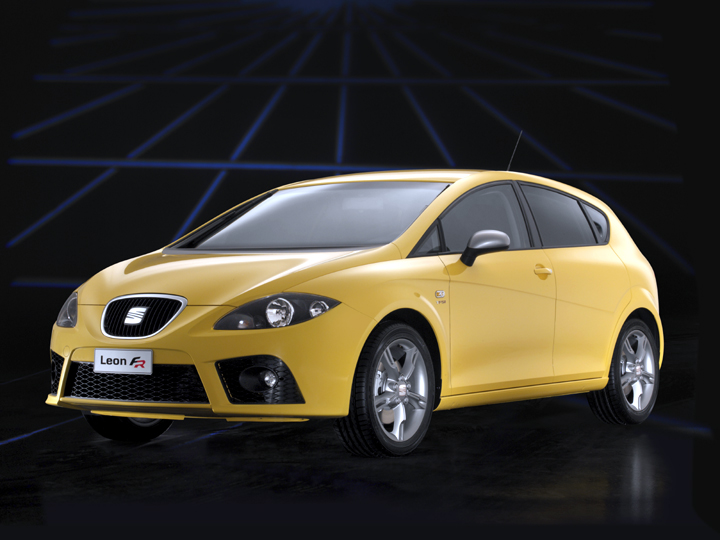 Seat Leon Fr 2010. World debut for new SEAT León