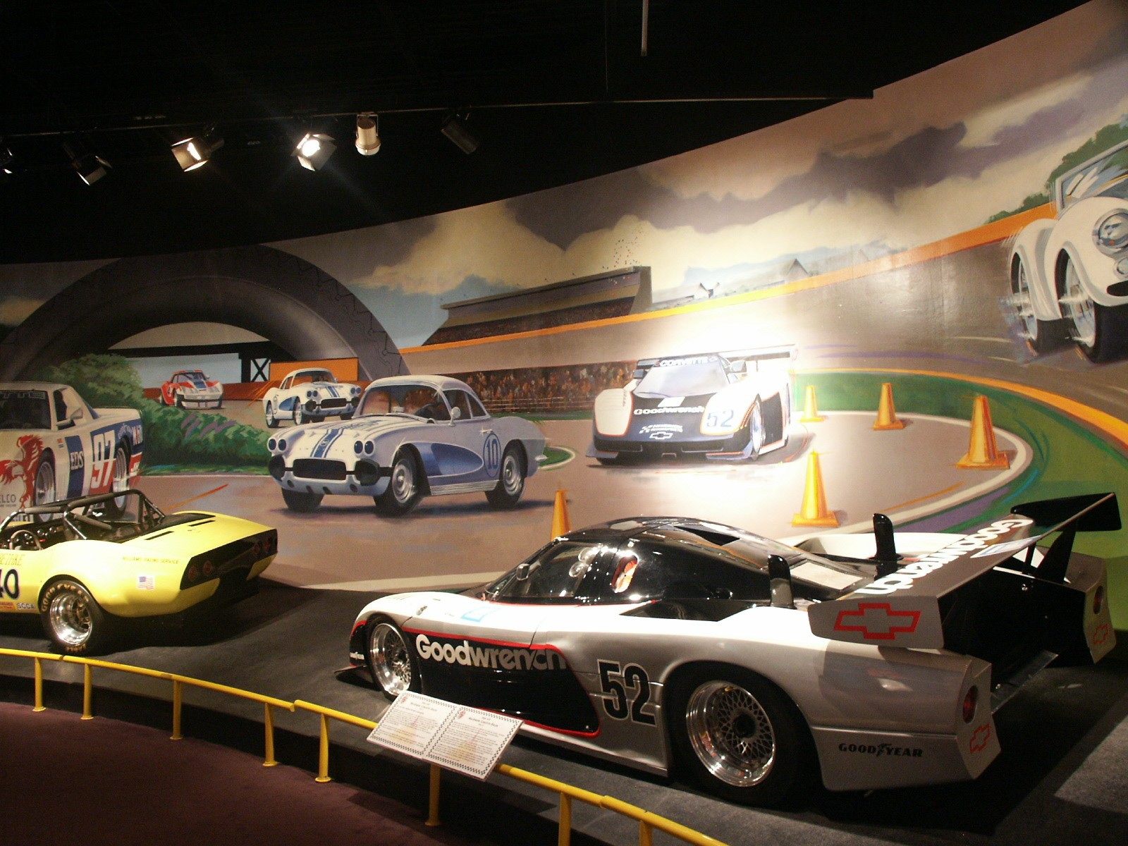 Corvette Racing display