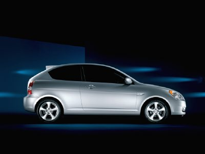 Hyundai Accent 3 Door Redesigned Vehicle