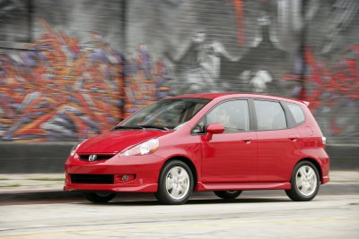 2007 honda fit sport review