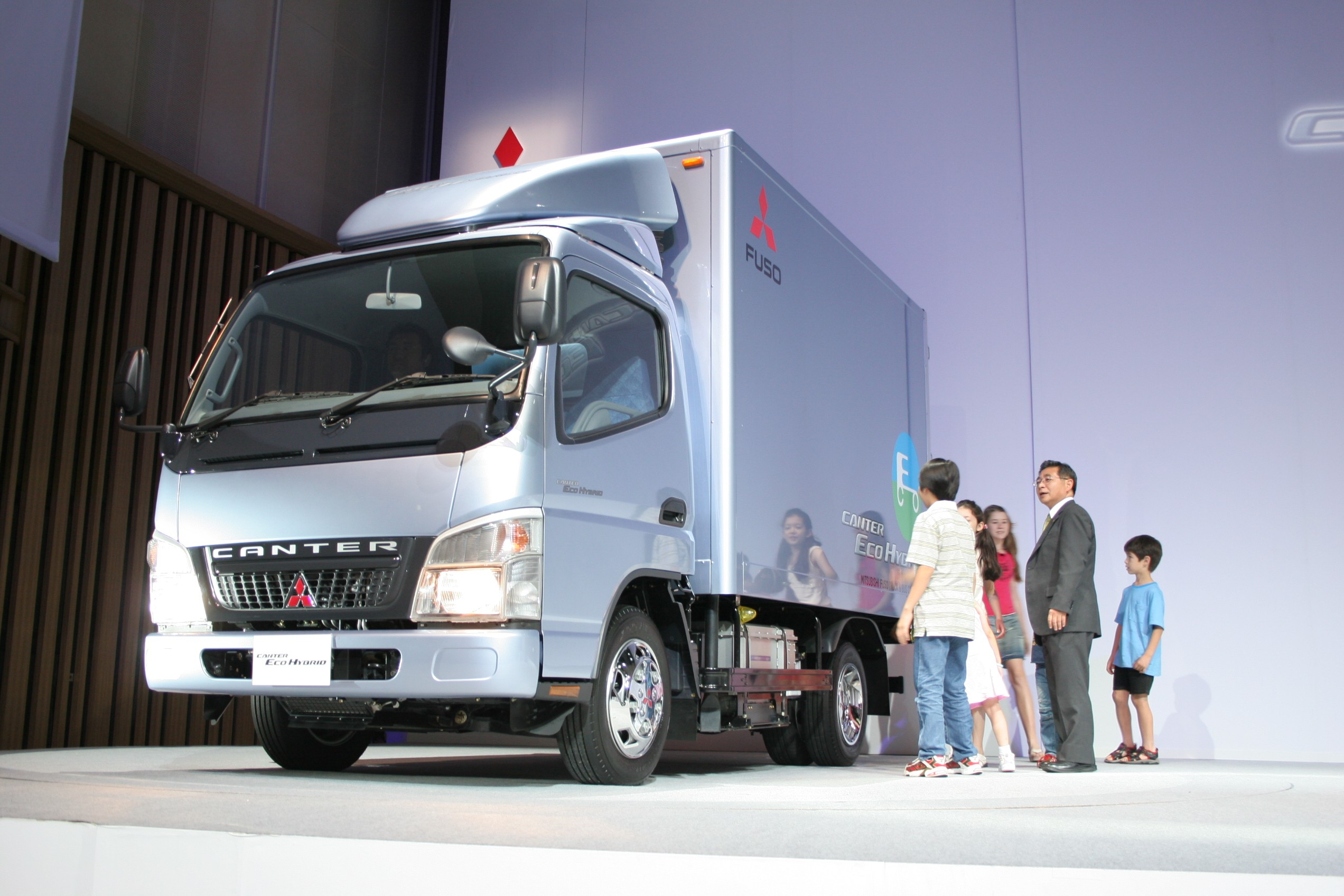 Mitsubishi Fuso Launches Cleanest Light Truck In The World