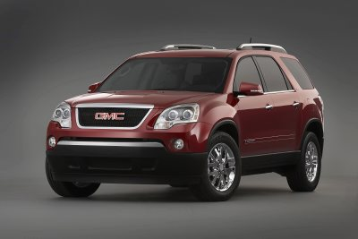 2007 GMC Acadia crossover SUV @ A Is For Automobile – Cars, vehicles, and autos.