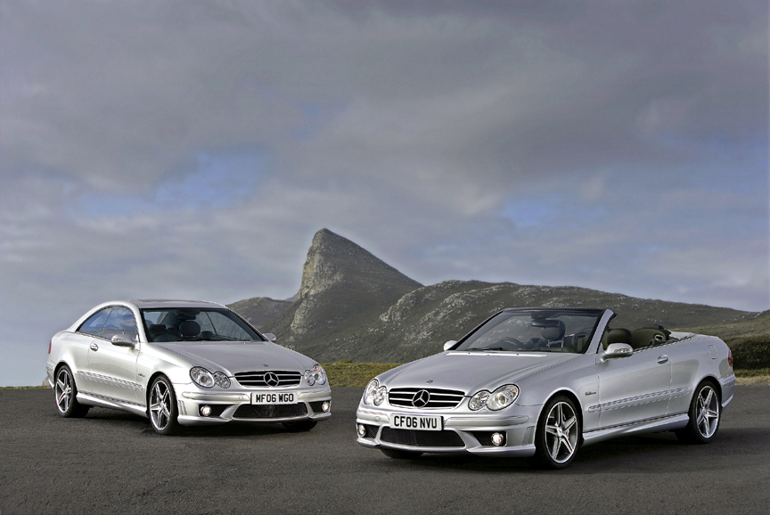 CLK 63 AMG Coupe and Cabriolet • CLK 500 Coupe and Cabriolet