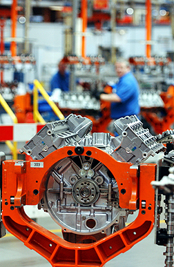 Ford Flexible Engine Production Boosted By Investment In