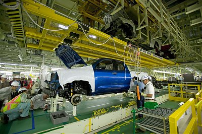First 2007 Tundra Pickup Rolls Off The Line Marking The