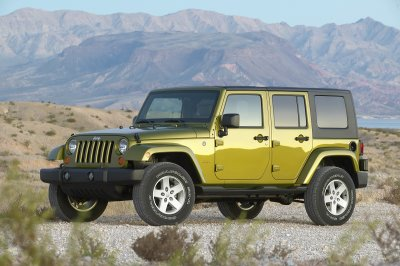 2007 Jeep Wrangler (Unlimited Shown)