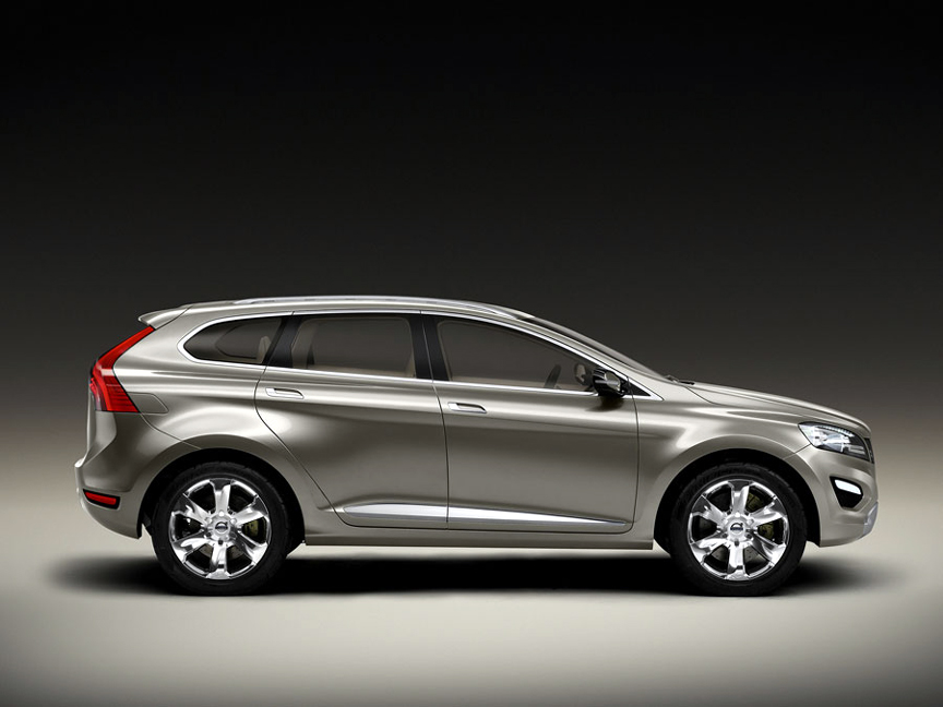 the volvo xc60 concept to be unveiled at the 2007 detroit motor