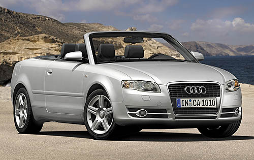 Audi A4 Convertible Picture