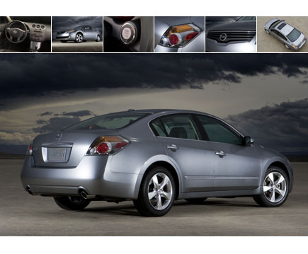 Nissan Altima 3.5 and Honda Accord V-6 At Top of Family Sedan Category