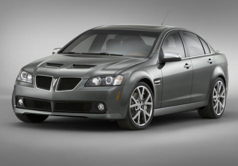 Sedan Pontiac G8 Photos