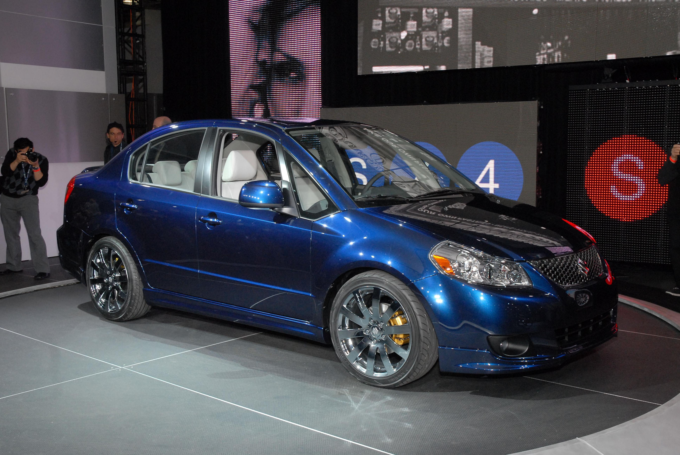 American Suzuki Debuts All New 2008 Sx4 Sedan At 2007 New