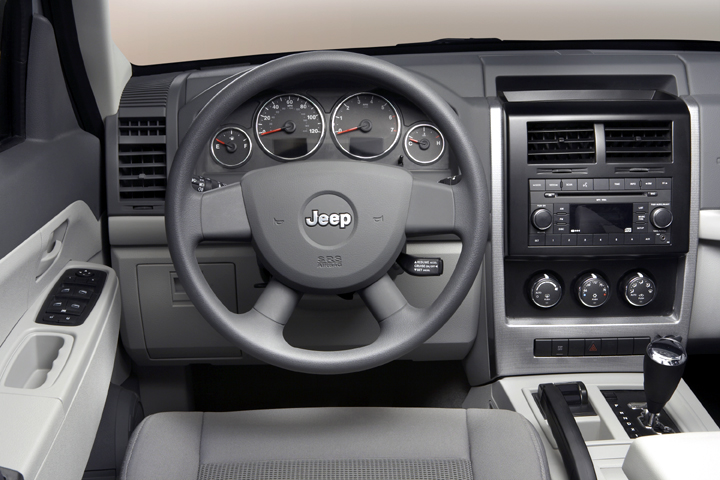 2008 Jeep Liberty interior