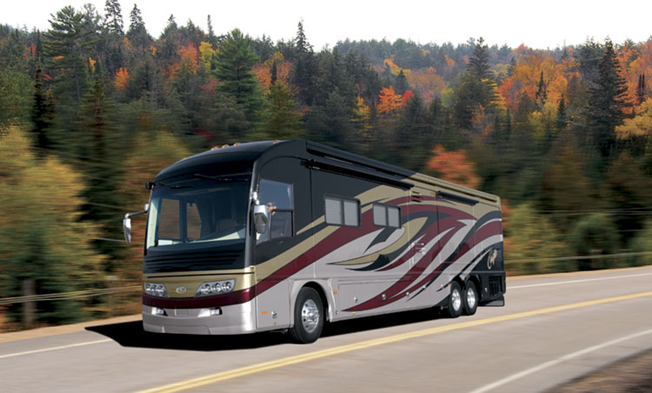 Fleetwood Launches New American Coach Logo and Restyled 2008 American