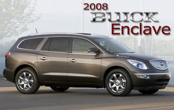 2008 buick enclave cxl awd review