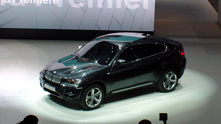 2007 Frankfurt Motor Show - BMW Concept X6 Sports Activity Coupe