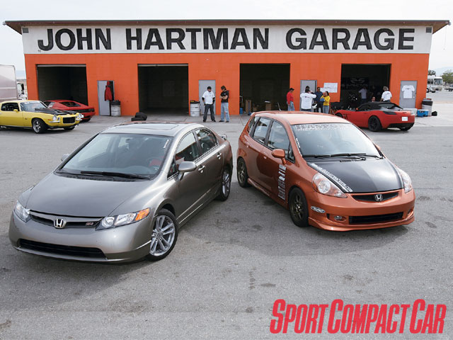 A perfect fit 2007 honda civic si vs fit for Honda fit vs civic